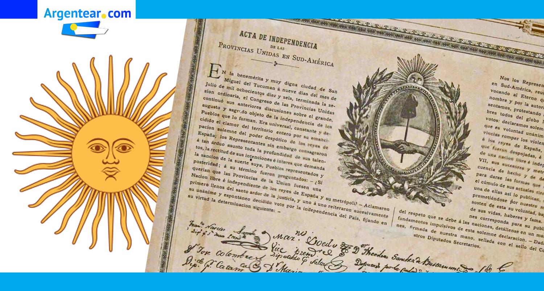 9 de Julio de 1816, una Nación libre e independiente nace en el sur de América · Argentear