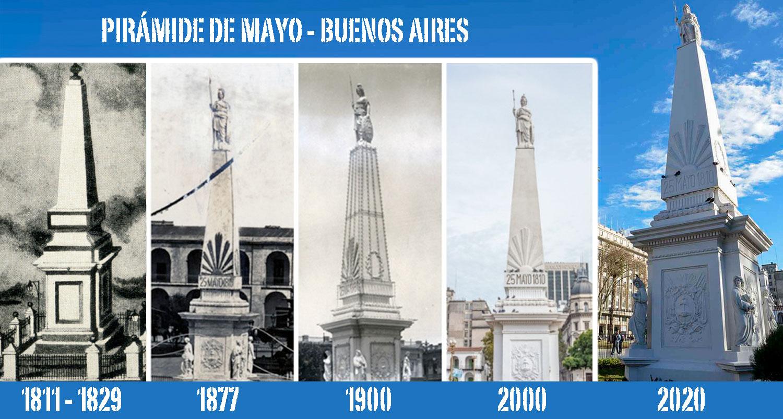 La Pirámide de Mayo, el monumento más antiguo de Argentina · Argentear